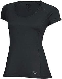 Wilson 2015 Tennis Womens Top Nvision Elite Cap Sleeve Shirt
