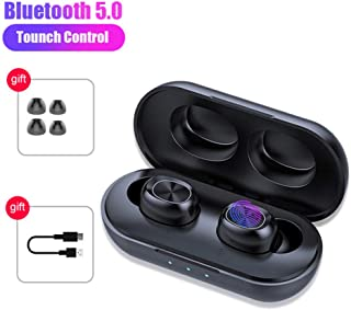 FidgetFidget B5 TWS Bluetooth Earphone Wireless Headset HiFi Stereo Noise Cancelling Gaming Headphones With Microphones black