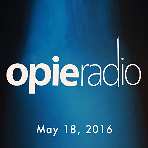 Opie and Jimmy, Al Yankovic, Seth Rogen, May 18, 2016 audiobook cover art