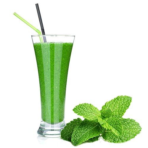 Pfefferminz Geschmack Eiweißpulver Milch Proteinpulver Whey Protein Eiweiß L-Carnitin angereichert Eiweißkonzentrat für Proteinshakes Eiweißshakes Aspartamfrei (200 g)