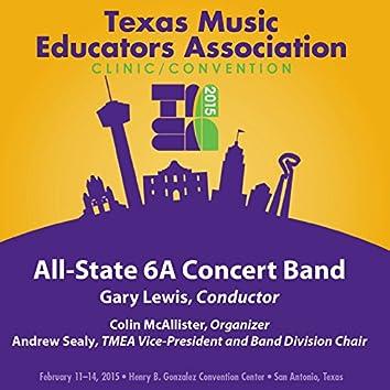 2015 Texas Music Educators Association (TMEA): All-State 6A Concert Band [Live]