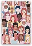 Cartel feminista Girl Power...