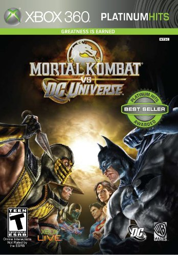 Midway Mortal Kombat vs. DC Universe, Xbox 360 Xbox 360 Inglés vídeo - Juego (Xbox 360, Xbox 360, Lucha, Modo multijugador, T (Teen))