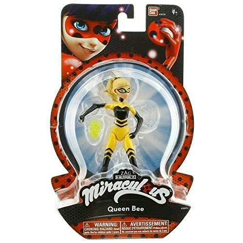 Bandai 39720 Ladybug–Figura articolata, 14cm, Modelli assortiti, 1 pezzo