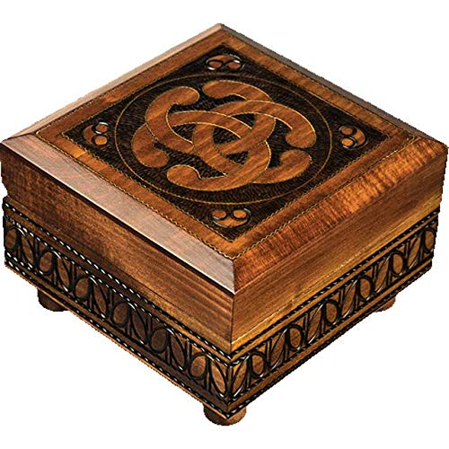 Enchanted World of Boxes Celtic Knot - Secret Box