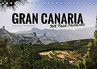 Gran Canaria - 365 Tage Fruehling (Tischkalender 2022 DIN A5 quer): Zwoelf atemberaubende Inselmomente (Monatskalender, 14 Seiten )