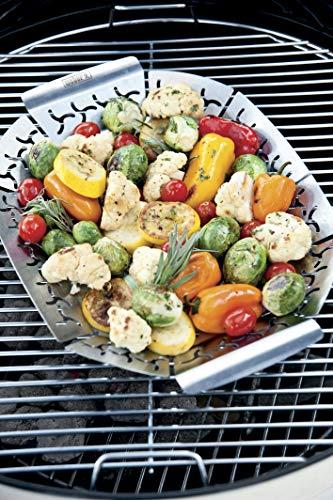 51lB7SV5v2L - Weber® Gemüsekorb, klein