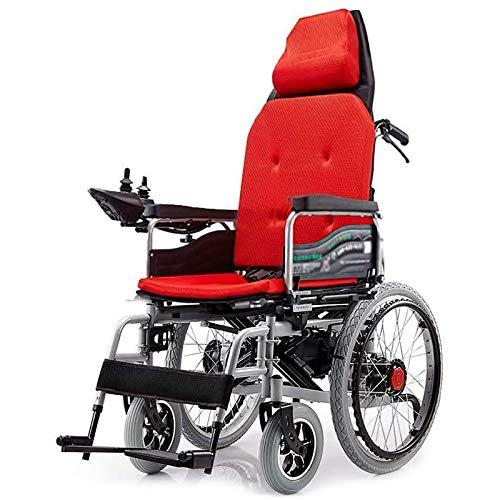 Macro Möbeldekoration Elektrischer Rollstuhl Klappbar Smart Disabled Allrad Rollstuhl Kopfstütze