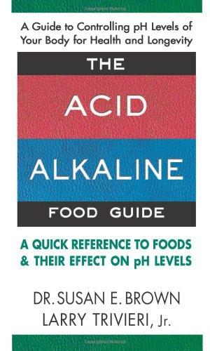 The Acid-Alkaline Food Guide book