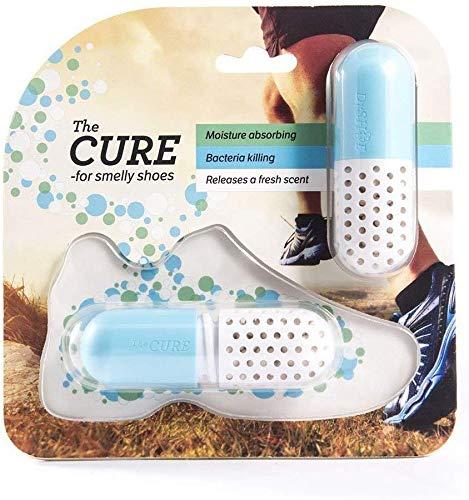 Schuh Deo - Geruchsneutralisierer - Antibakteriell - Trockenmittel - Geruchsentferner - Deodorant...