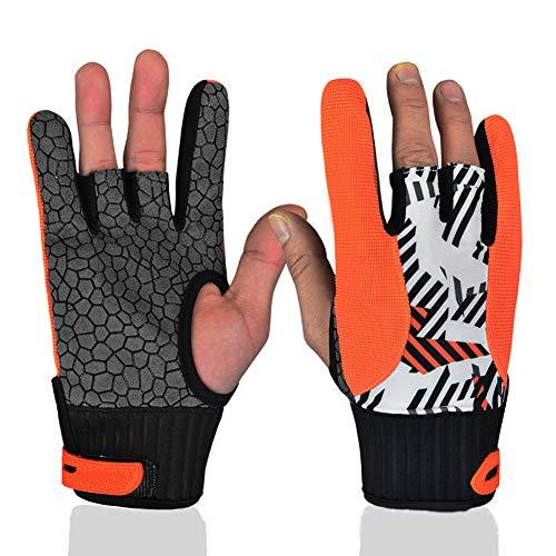 Wodeni Antislip bowling handschoenen, vingers, show handschoenen, weerbestendig, silicone sports bowling handschoen