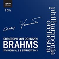 Symphonies Nos. 1 And 3 by JOHANNES BRAHMS (2011-05-24)