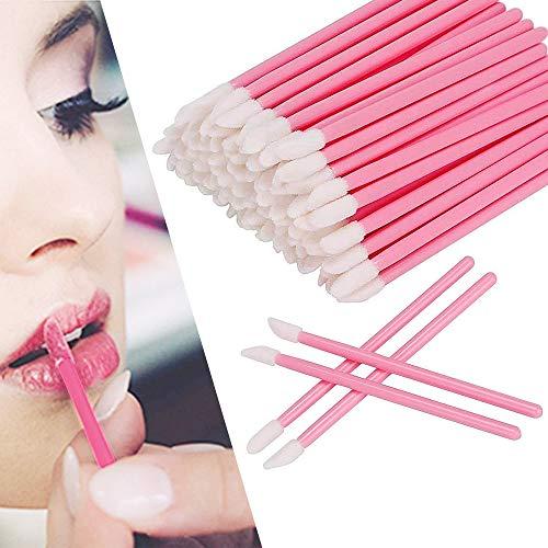 100 Stück Lippenpinsel Einweg Lippenpinsel Einweg Lip Gloss Pinsel Lippenapplikator einwegLippenstift Gloss Applikatoren Perfekte Make-Up Tool Kits