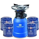 Rechaud gaz piezo KEMPER+ 4 Cartouches...