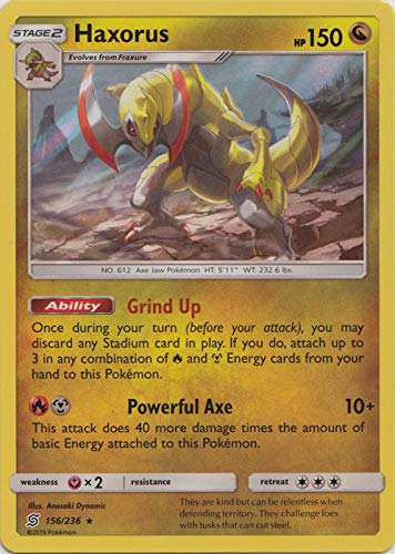 Haxorus - 156/236 - Holo Rare - Unified Minds