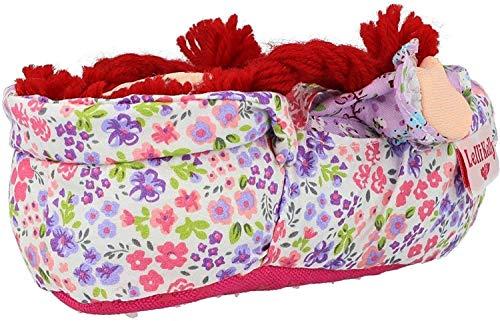 Lelli Kelly Ciabatta Pantofola Bambina Bambola (AD01) (LK8000) (Rossa) (34/35 EU)