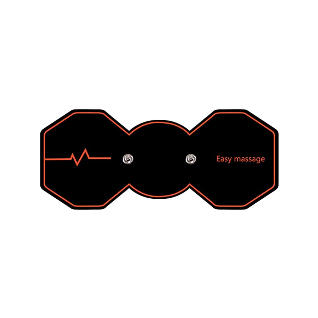 不当ファンブル識別SUPVOX 電気パルスリラックスマッサージパッド電気痩身パッドボディ痩身筋肉マッサージャー(ブラック)