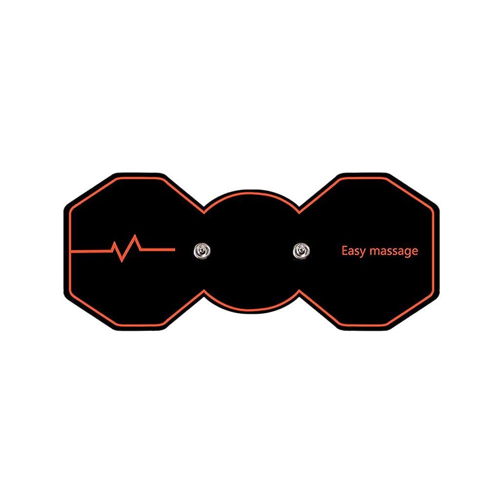 仲人四半期ブランデーSUPVOX 電気パルスリラックスマッサージパッド電気痩身パッドボディ痩身筋肉マッサージャー(ブラック)