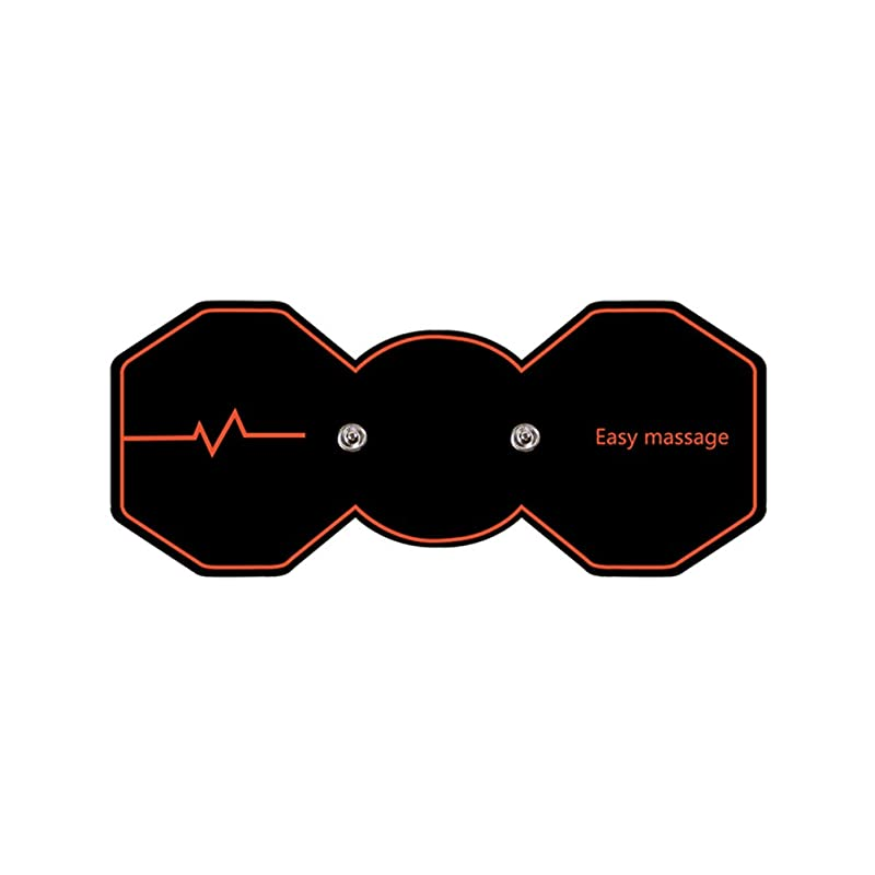 歌詞寂しい親愛なSUPVOX 電気パルスリラックスマッサージパッド電気痩身パッドボディ痩身筋肉マッサージャー(ブラック)