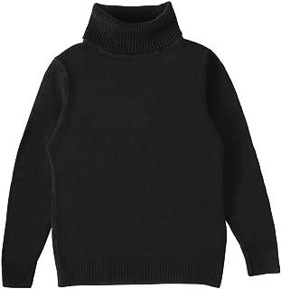 Toddler Baby Boys Girls Long Sleeves Knit Turtleneck Sweater Casual Winter Warm Shirt