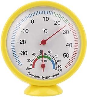 hkwshop Higrómetro para Interior Termómetro mecánico para Exteriores al Aire Libre Hygrómetro Pequeño y portátil Fábrica d...