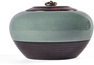 Jueven Funeral Urn by Mini Cremation Urn for Human Ashes Adult- Fits A Small Amount of Cremated Remains