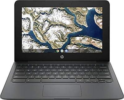 "Newest Flagship HP Chromebook, 11.6"" HD (1366 x 768) Display, Intel Celeron Processor N3350, 4GB LPDDR2, 32GB eMMC, Chrome OS, HD Graphics 500, 11A-NB0013DX, Ash Gray"