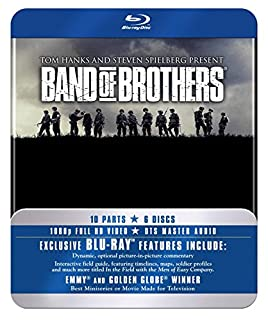 Band Of Brothers - The Complete Series (Commemorative 6-Disc Gift Set in Tin Box) [Blu-ray] [2010] (B003YCOIFY)   Amazon price tracker / tracking, Amazon price history charts, Amazon price watches, Amazon price drop alerts