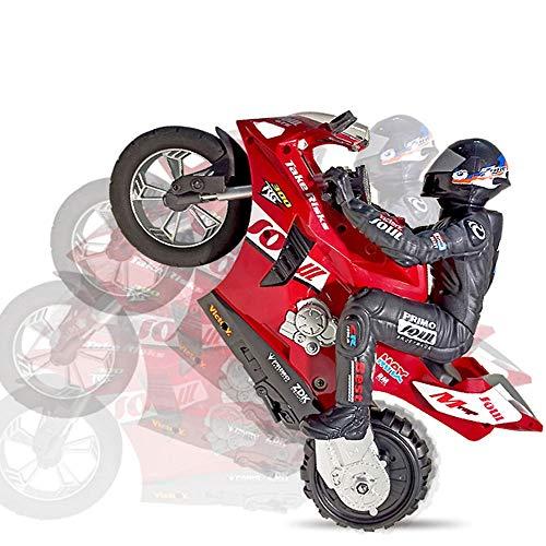 SSBH Self-Balanced Remote Control-Stunt-Auto, Junge Elektromotorrad kann Stehen und driften, 360 ° rotierender Rock-Klettern außerhalb des Road-Spielzeugwagens, das Beste Feiertagsgeschenk for Kinder