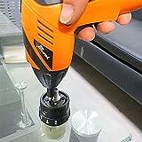 MISDD Trapano Elettrico Mini cacciavite Elettrico 200 RPM Cordless 220V Li-Ion Drill Multifunzione Fai da Te di Presa Wireless 104 Bit di Alimentazione Screw Driver Strumento (Color : 1)