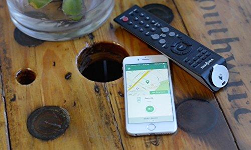 TrackR Bravo - Tracker GPS Bluetooth, Tracker clé, Tracker de téléphone, Localisateur de portefeuille, Génération 2, Rose Gold