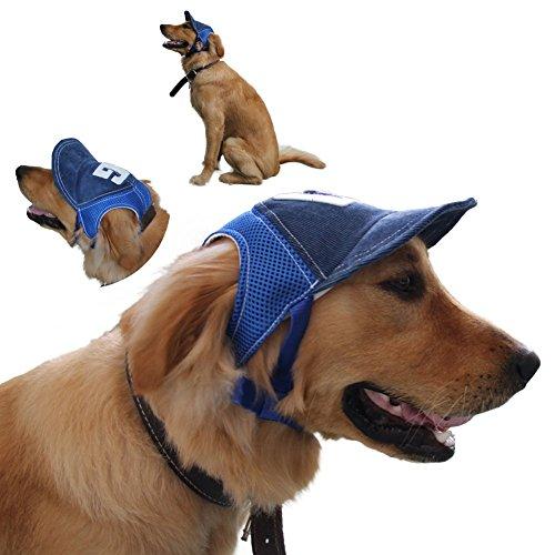 KLOUD City Hundemütze in Verschiedenen Farben und Größen erhältlich, Large Size Blue Color