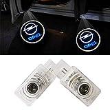 XYSTAR Coche Logo LED Proyector luces puerta, 2 PC Coche LED Logo Puerta Iluminación