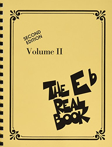 The Real Book: Volume II - Second Edition (E Flat Instruments): Noten für Gitarre, Gesang: Eb Edition