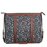 ZOUK Office Bag for Women - Handmade Bag for 15.6 inch Laptop, Macbook - Vegan Leather Handbag with...