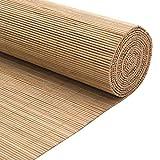MRZHW Tejidas a Mano Lujo Persianas de bambú Protector Solar Impermeable Persianas Enrollables De...