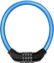 Kabelslot/Anti-diefstal Wachtwoordslot Elektrische Motorfiets 4-Bit Wachtwoord Outdoor Waterdichte Anti-Rust Wire Lock/Fie...