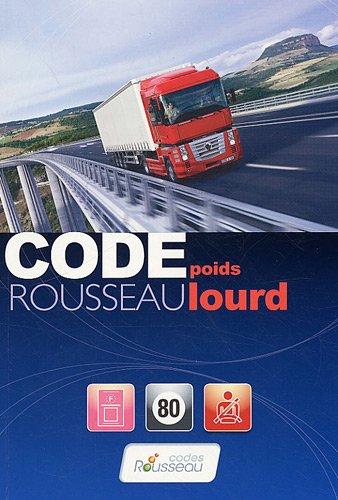 Code Rousseau Poids lourd 2009