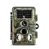 ABASK Wildlife Camera, Trail Surveillance Waterproof Digital Camera 3 Zone Infrared Sensor Trail...