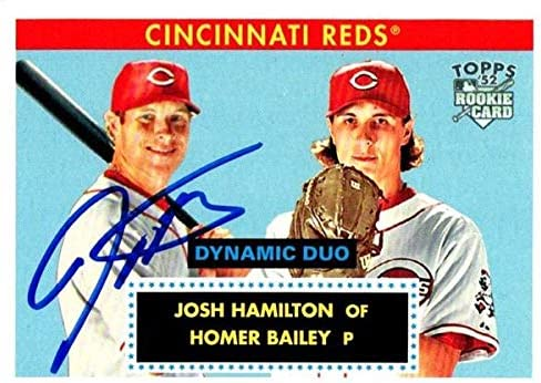 Autograph Warehouse 651262 Josh shopping Baseball Autographed Hamilton All items in the store Ca