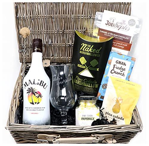 Photo of Personalised Premium Pina Colada Malibu Gift Hamper