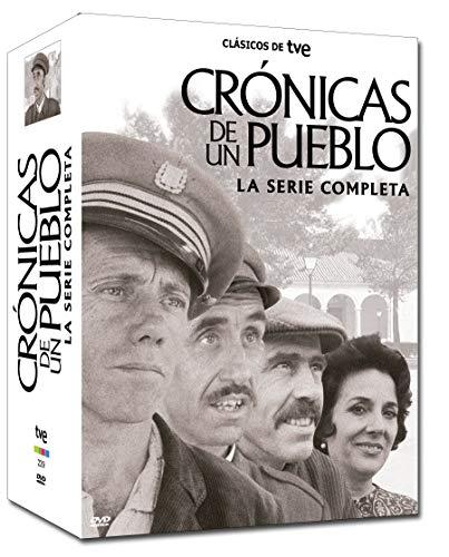 Cronicas De Un Pueblo, Serie Completa Tve  17dvd