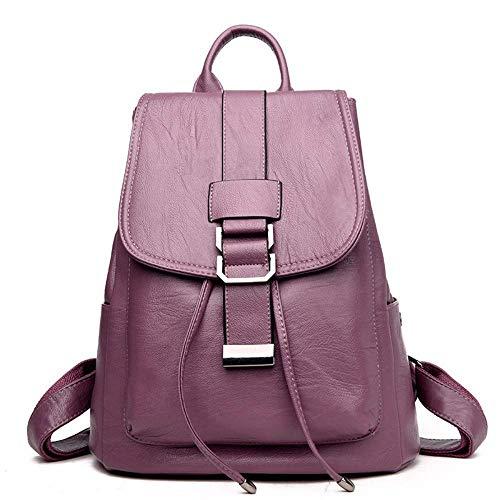Thumby dames handtassen, crossover-rugzak, zacht en zacht, voor reizen, wijnrood Azul