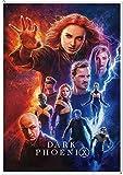 X-Men Dark Phoenix Poster Unframed Painting Wall Art Pictures Print Para Sala De Estar Decoracin Para El Hogar Wall Sticker 42X30Cm Dark Khaki