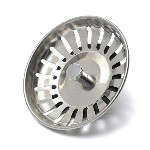 Siebkörbchen Siebkorb Ablaufsieb Abfluss-Stöpsel Durchmesser 83 mm Küchenspüle