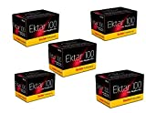 Kodak 35mm Ektar 100 Color Negative (Print) Film 36 Exp. lot of 5 Rolls (Pack of 5), BHBUSWA1025