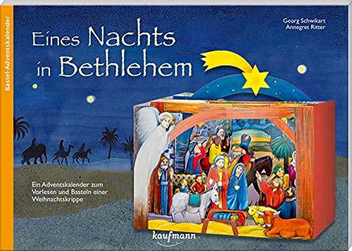Eines Nachts in Bethlehem: Ein Adventskalender zum Vorlesen und Basteln einer Weihnachtskrippe (Adventskalender mit Geschichten für Kinder: Ein Buch zum Vorlesen und Basteln)