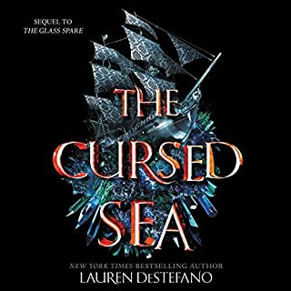The Cursed Sea audiobook cover art