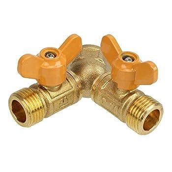 natural gas splitter valve