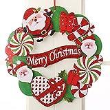ZHongWei - Corona de Navidad Corona de Navidad, Decoraciones de Navidad, árbol de Navidad, en Tres Dimensiones de la Guirnalda de Papel, 2 Opcional Arboles de Navidad (Color : B)